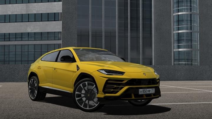 2019 Lamborghini Urus (1.5.9) - City Car Driving мод
