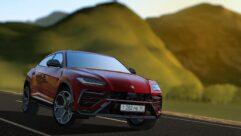 2019 Lamborghini Urus (1.5.9) - City Car Driving мод (изображение 4)