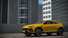 2019 Lamborghini Urus (1.5.9) - City Car Driving мод (изображение 6)