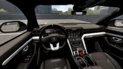 2019 Lamborghini Urus (1.5.9) - City Car Driving мод (изображение 7)