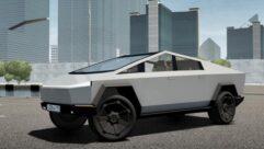 2021 Tesla Cybertruck (1.5.9) - City Car Driving мод