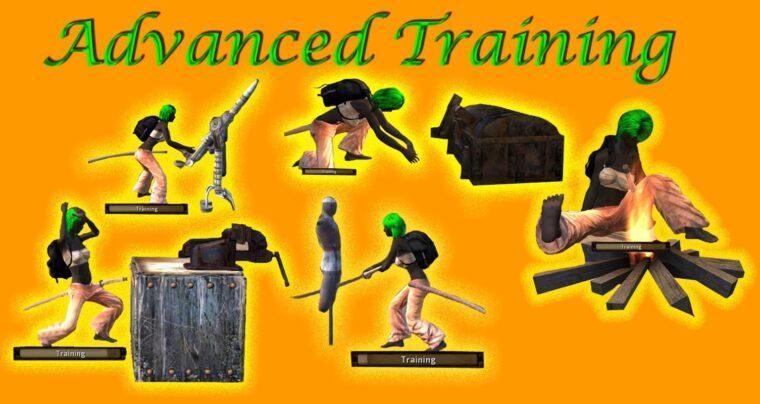 Advanced training dummies - Kenshi мод