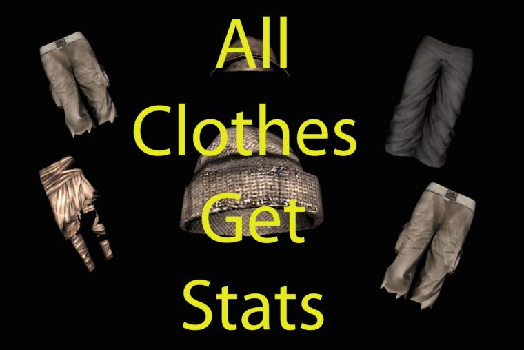 All Clothes have Stats - Kenshi мод