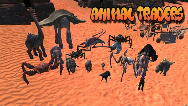 Animal Traders - Kenshi мод