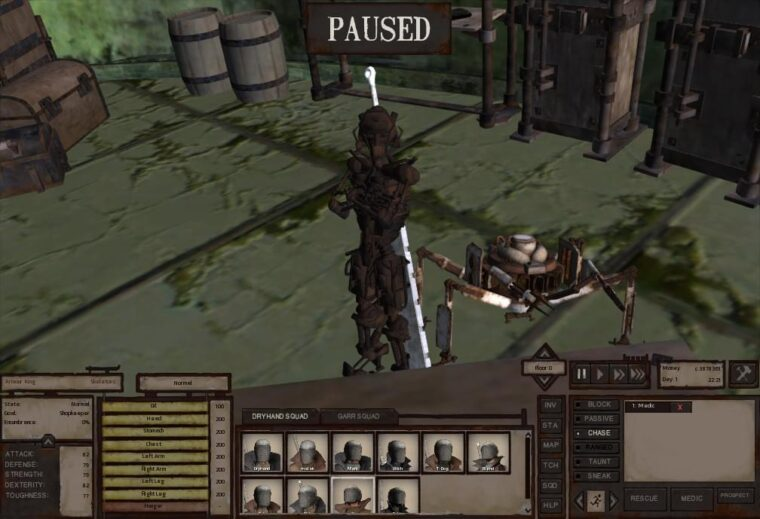 Armour King has more items - Kenshi мод