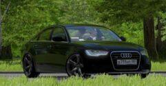 Audi A6 3.0 TFSI quattro (1.5.9) - City Car Driving мод (изображение 2)