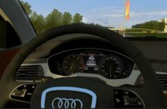Audi A6 3.0 TFSI quattro (1.5.9) - City Car Driving мод (изображение 4)
