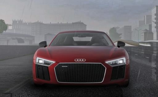 Audi R8 V10 Plus (1.5.9) - City Car Driving мод