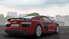 Audi R8 V10 Plus (1.5.9) - City Car Driving мод (изображение 2)