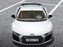 Audi R8 V10 Plus (1.5.9) - City Car Driving мод (изображение 3)