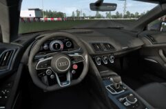 Audi R8 V10 Plus (1.5.9) - City Car Driving мод (изображение 4)