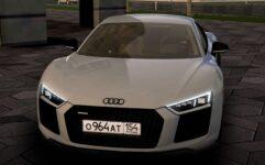 Audi R8 V10 Plus (1.5.9) - City Car Driving мод (изображение 6)