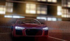 Audi R8 V10 Plus (1.5.9) - City Car Driving мод (изображение 7)