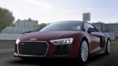 Audi R8 V10 Plus (1.5.9) - City Car Driving мод (изображение 8)