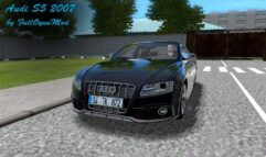 Audi S5 2007 (1.5.9) - City Car Driving мод