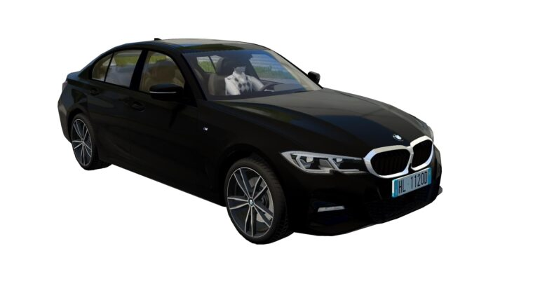 BMW 3-Series (G20) 2019 (1.5.9) - City Car Driving мод