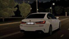 BMW 3-Series (G20) 2019 (1.5.9) - City Car Driving мод (изображение 4)