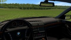 BMW 750i E38 (1.5.9) - City Car Driving мод (изображение 10)