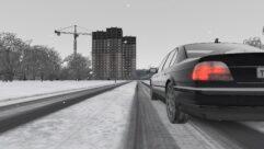BMW 750i E38 (1.5.9) - City Car Driving мод (изображение 12)