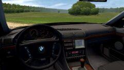 BMW 750i E38 (1.5.9) - City Car Driving мод (изображение 4)