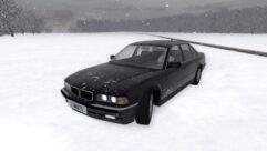 BMW 750i E38 (1.5.9) - City Car Driving мод (изображение 6)