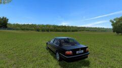 BMW 750i E38 (1.5.9) - City Car Driving мод (изображение 9)