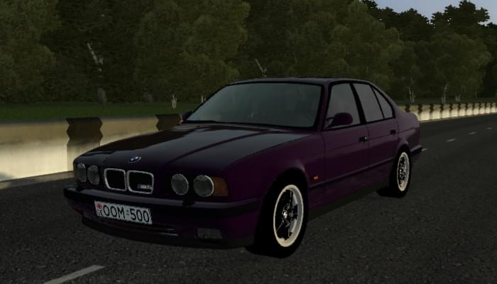 BMW M5 E34 1995 (1.5.9) - City Car Driving мод