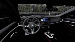 BMW M5 F10 (1.5.9) - City Car Driving мод (изображение 4)