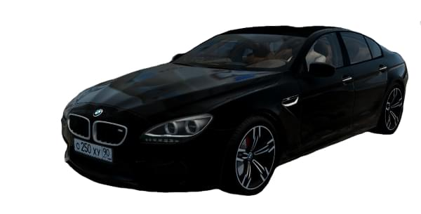 BMW M6 F06 Gran Coupe (1.5.9) - City Car Driving мод