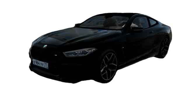 BMW M8 2020 (1.5.9) - City Car Driving мод