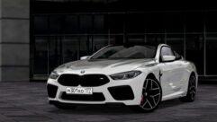 BMW M8 2020 (1.5.9) - City Car Driving мод (изображение 2)