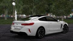 BMW M8 2020 (1.5.9) - City Car Driving мод (изображение 4)