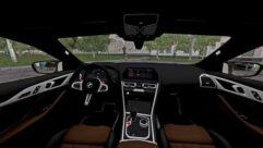 BMW M8 2020 (1.5.9) - City Car Driving мод (изображение 5)