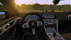 BMW M8 2020 (1.5.9) - City Car Driving мод (изображение 6)