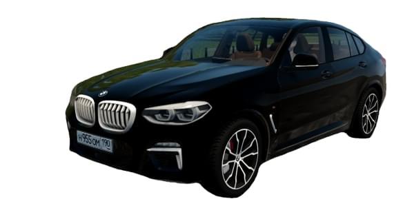 BMW X4 xDrive M40d AT (1.5.9) - City Car Driving мод