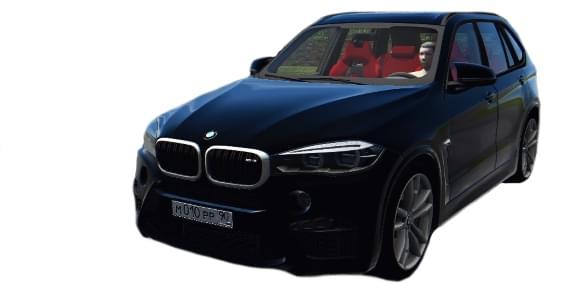 BMW X5M F85 (1.5.9) - City Car Driving мод