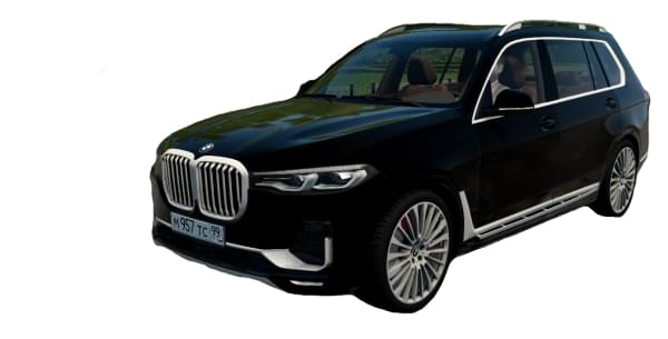 BMW X7 (G07) xDrive 4.0i (1.5.9) - City Car Driving мод