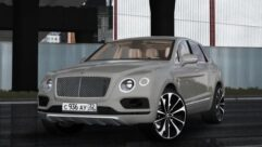Bentley Bentayga 2016 (1.5.9) - City Car Driving мод