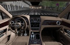 Bentley Bentayga 2016 (1.5.9) - City Car Driving мод (изображение 2)