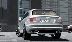 Bentley Bentayga 2016 (1.5.9) - City Car Driving мод (изображение 3)