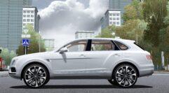 Bentley Bentayga 2016 (1.5.9) - City Car Driving мод (изображение 4)