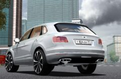 Bentley Bentayga 2016 (1.5.9) - City Car Driving мод (изображение 5)