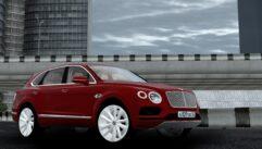Bentley Bentayga 2016 (1.5.9) - City Car Driving мод (изображение 7)