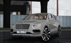 Bentley Bentayga 2016 (1.5.9) - City Car Driving мод (изображение 8)