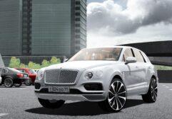 Bentley Bentayga 2016 (1.5.9) - City Car Driving мод (изображение 9)