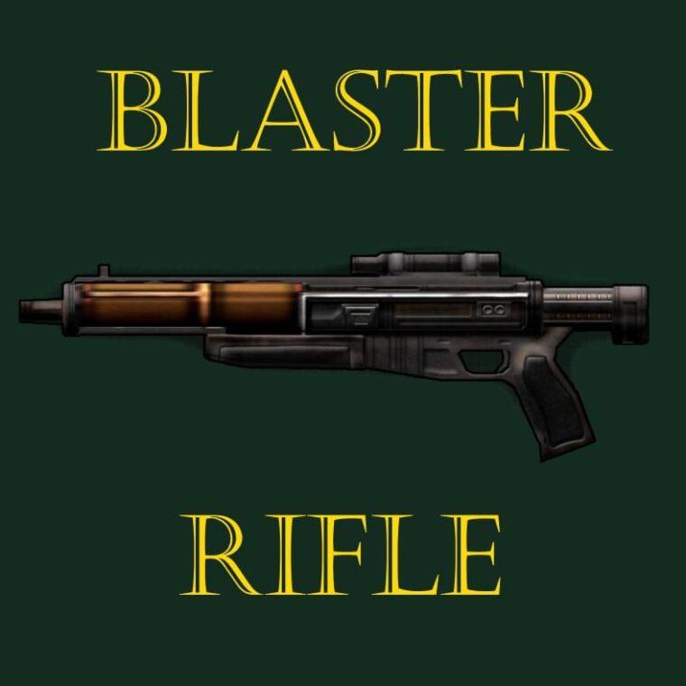 Blaster Rifle - Kenshi мод