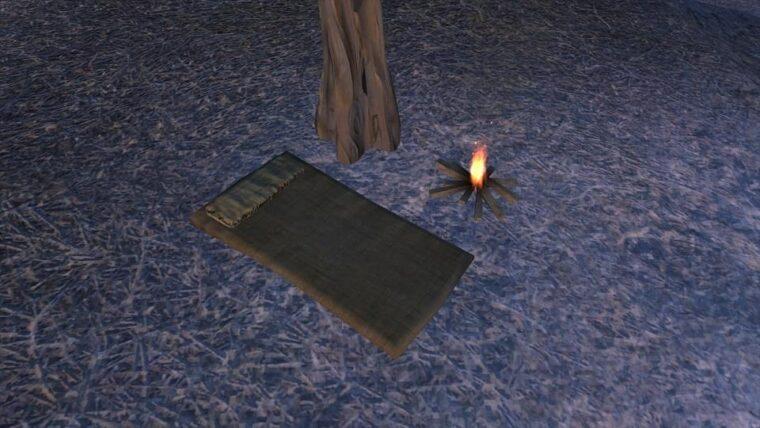 Camping Bed - Kenshi мод