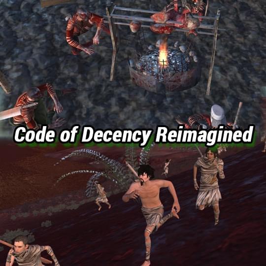 Code of Decency Reimagined - Kenshi мод