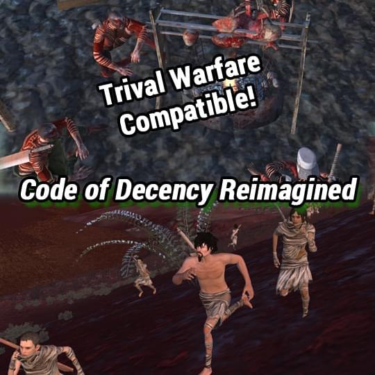 Code of Decency TW Reimagined (устаревшая версия) - Kenshi мод