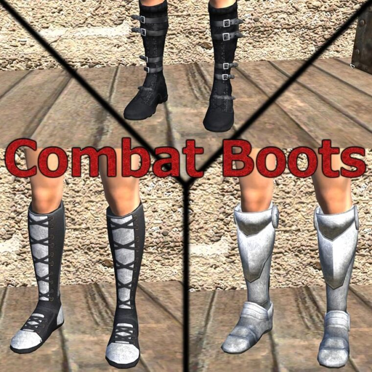 Combat Boots - Kenshi мод